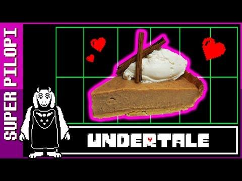 Pastel de canela y caramelo de UNDERTALE - Receta
