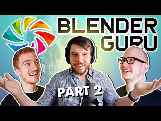 Interviewing Blender Guru On Future of Blender - Part 2