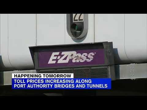 NYC Tolls Increase On Several Bridges And Tunnels