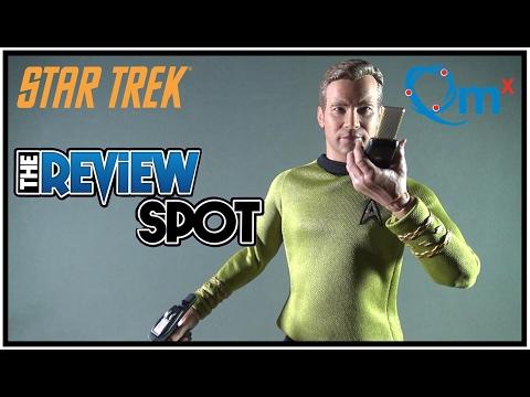 Collectible Spot - Quantum Mechanix Master Series Star Trek Captain James T. Kirk (Excl Version)