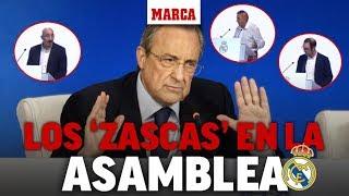 Todos los 'zascas' de la asamblea del Madrid I MARCA