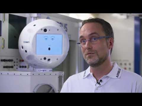 Künstliche Intelligenz CIMON fliegt mit Alexander Gerst ins All