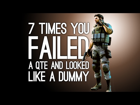 7 Times You Failed a QTE and Looked Like an Hilarious Dummy