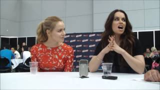 Amanda Schull and Emily Hampshire discuss season two of 12 Monkeys ...