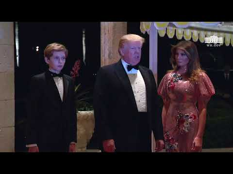 President Trump New Year's Eve Ball