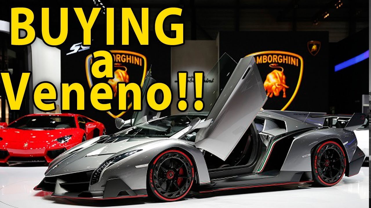 Where can i buy a lamborghini veneno