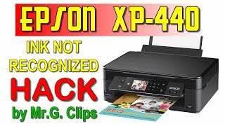 EPSON XP-440 Unboxing and Ink Not Recognized HACK! :D