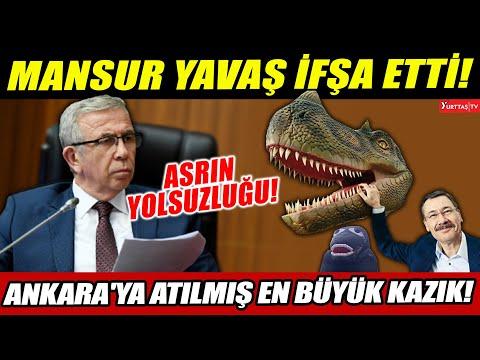 """Mansur Yavaş asrın yolsuzluğunu ifşa etti! """"Bu Ankara'ya atılmış en büyük kazık!"""""""