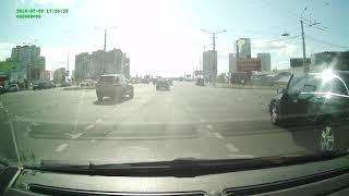 ДТП с переворотом в Минске
