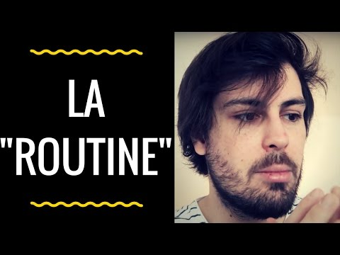 FREELANCE : L'IMPORTANCE DE LA ROUTINE