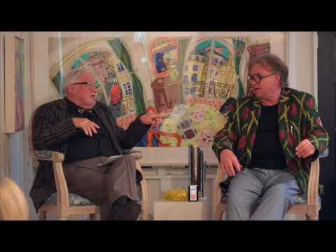Bernard Ollis and John Hockney full interview, Aarwun Gallery Canberra