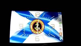 Часы с символикой морской пехоты России для OS Android