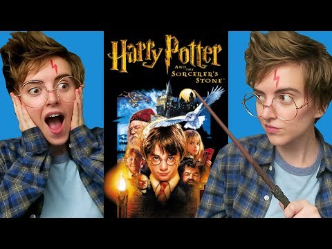 Me Watching Harry Potter and the Sorcerer's Stone (Philosopher's Stone) Movie Reaction