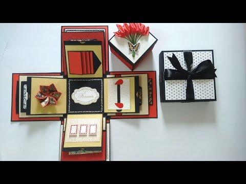 Anniversary / Valentine special explosion box tutorial | by Srushti Patil