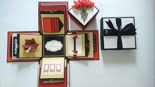 بالفيديو- تعرفوا على طريقة عمل صندوق هدية مبتكر وجديد - أمنية سعيد