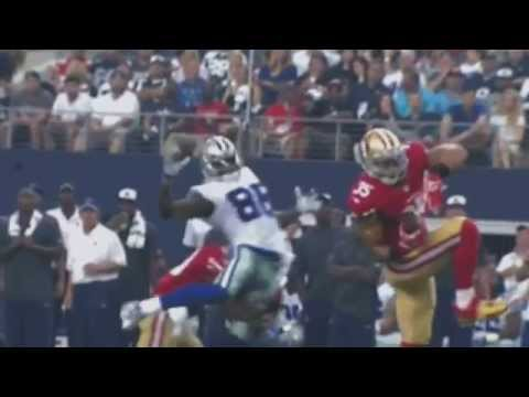 Dez Bryant Hit Vs 49ers Biggest Hit Of 2014