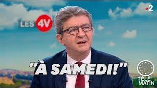 Mélenchon manifestera sur les Champs-Élysées samedi avec les gilets jaunes