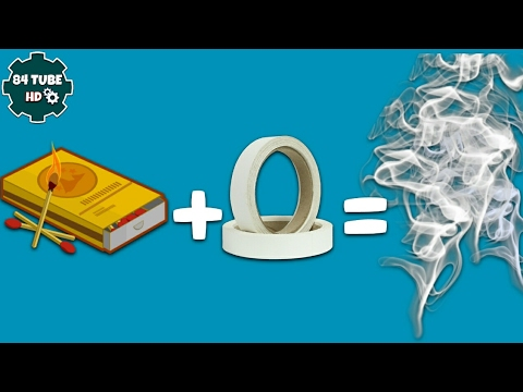 How to make a smoke bomb | smoke bomb from matches