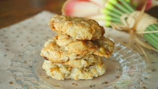 세 가지 재료로 만드는 비건 쿠키 Vegan cooki…