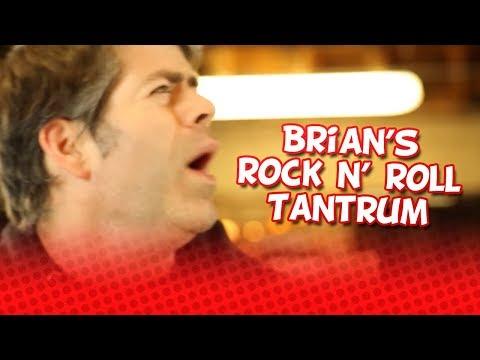 Game Grumps: Brian's lame Rock n' Roll tantrum  