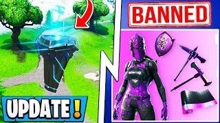 *NEW* Fortnite Update! | Twitch Prime 3, 1000+ Players Banned, Rune is Moving!