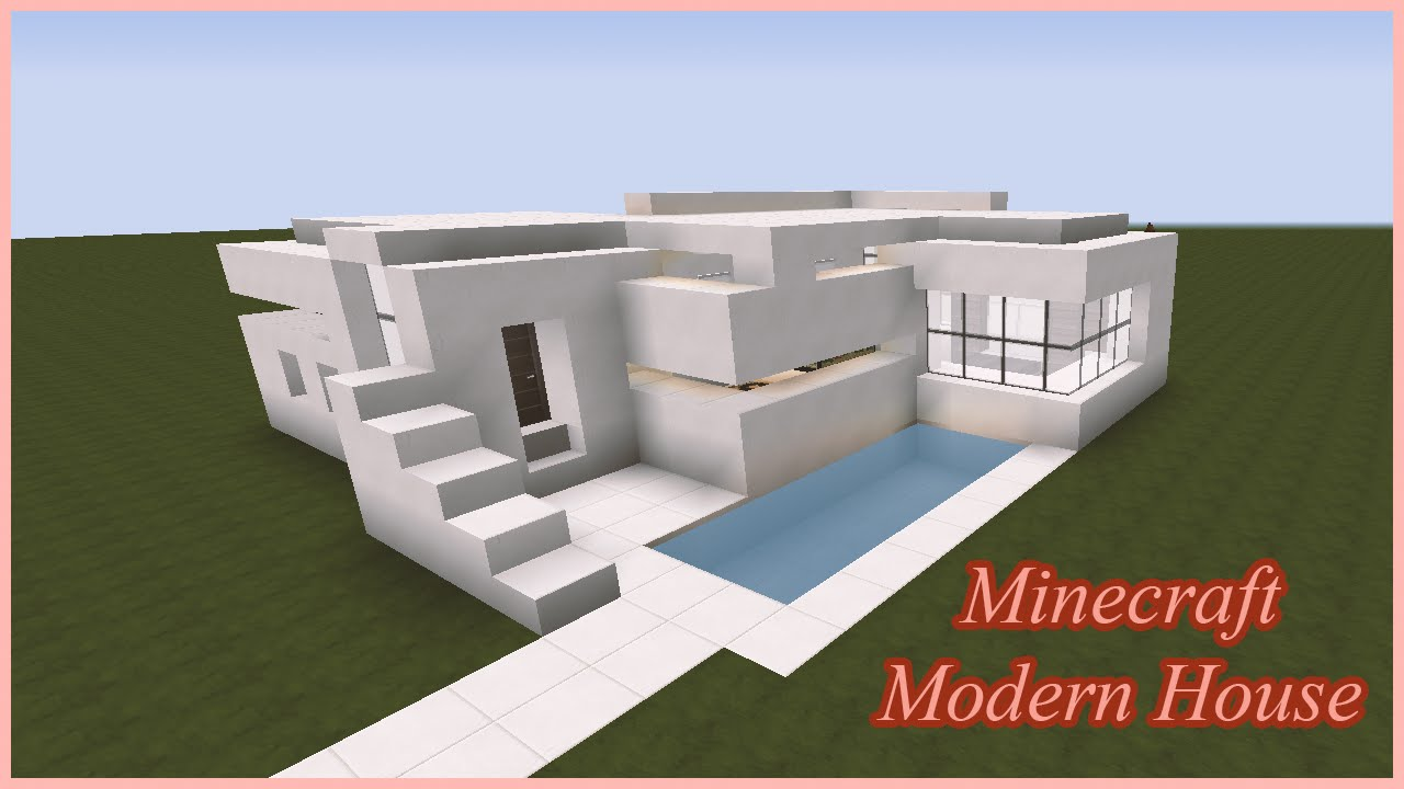 Minecraft Modern House Flows HD Texture Pack YouTube
