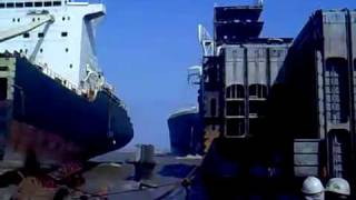How NOT to dock an oil tanker