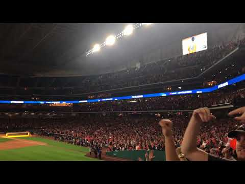 Final 3 outs from the 2017 World Series from inside the Minute Maid Park Watch Party!