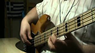 Pink Floyd Breathe In The Air Bass Cover