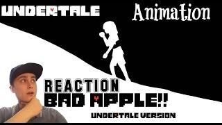 Bad Apple Undertale Version | REACTION