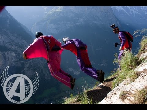 Adventures With Aviator - B.A.S.E. Jumping In Norway with Team Go4It -- (Wingsuit BASE)