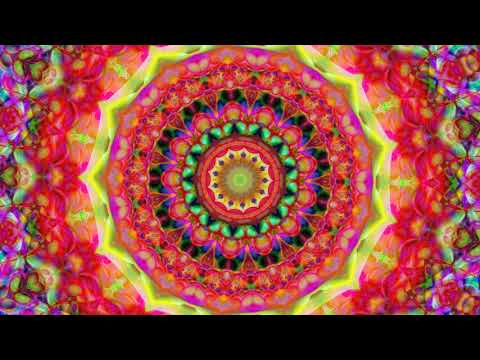 THE FLOWER OF GREAT BEAUTY UNFOLDING 80   An ambient electronic music video for meditation