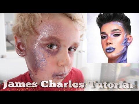Following James Charles Makeup Tutorial - Ariana Grande