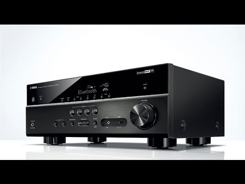yamaha rx-v481 5.1 channel av receiver - youtube