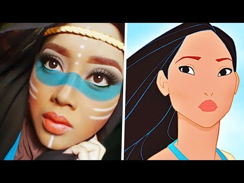Download Youtube: 10 People Who Look Like Disney Princesses