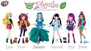 Zeenie Dollz Eco Warriors: Zennia Doll Toy Review, Zeeniedollz.com