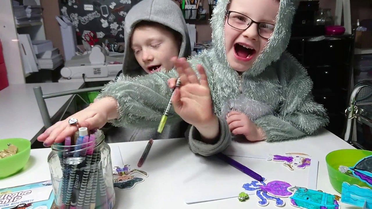 The Creative Kids Showcase A Pirate Ship Colouring Kit And Say A Big