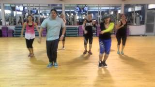 Adrenalina by Wisin ft. JLo and Ricky Martin, Zumba Mariadela