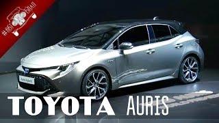 видео Toyota Auris 2019 года