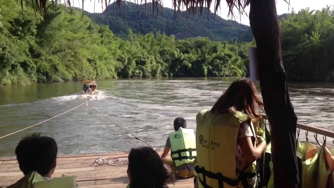 ล่องแพกาญจนบุรี(River kwai jungle view)