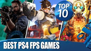Top 10 Best First-Person Shooters On PS4