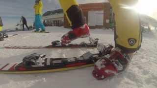 Compilatie Ski Resort Transalpina - GoPro