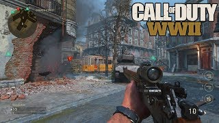NEW COD WW2 BETA WEAPONS, LEVELS, MAPS, & MORE! (CALL OF DUTY WW2 GAMEPLAY)