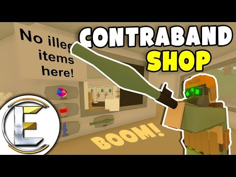 Prison Contraband Shop - Unturned Roleplay (Taking Over The Prison Made Into A Black Market)