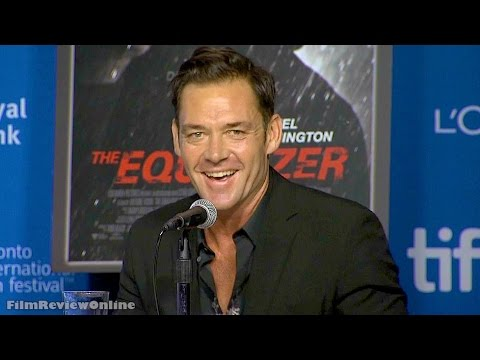 Equalizer  EXCLUSIVE Marton Csokas on his first day