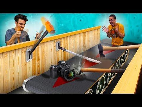 Weapon Conveyor Belt Challenge!