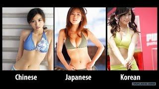Как отличить   Китайцев от Японцев и Корейцев