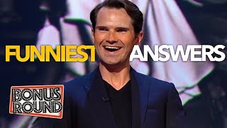 Funniest Jimmy Carr Moments & Answers EVER On QI! Bonus Round