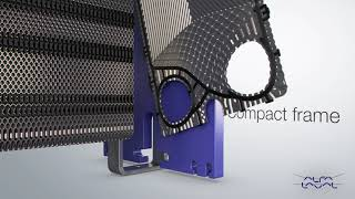 Compact Frame On Alfa Laval Gasketed Plate Heat Exchanger
