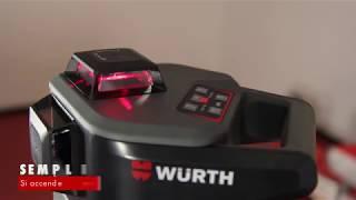 Livella laser autolivellante MLL-18R  | Würth